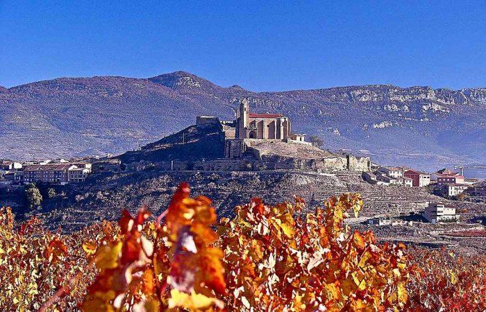 Rioja landscape in San Vicente